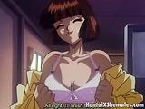 Auburn haired hentai