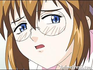 gorgeous anime girl with