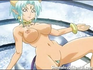 stunning hentai shemales