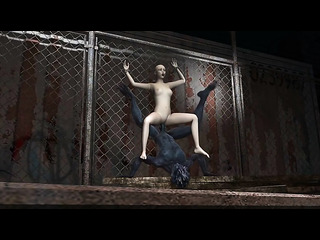 bald chick enchained the