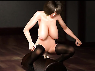 brunette hottie nylons satisfying