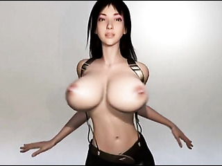 brunette virgin with enormous