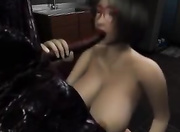 ugly allien fucking big-boobed