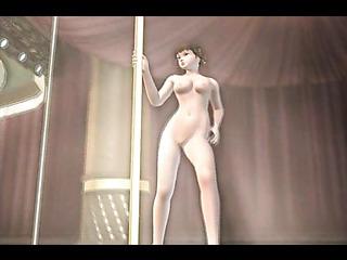 flexible nude vixen with