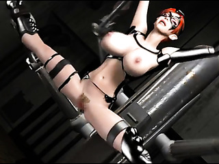 red boobed princess bondage